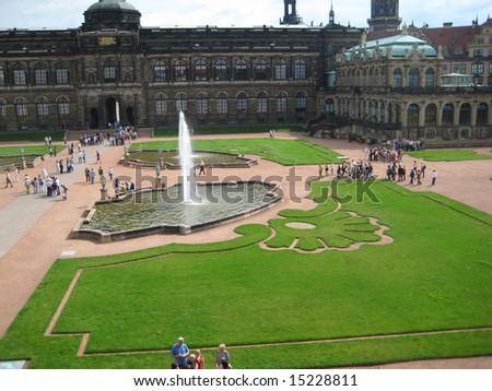 Zwinger Museum in Dresden, Germany