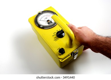 stock pictures of a geiger counter used to detect traces of nuclear radiation
