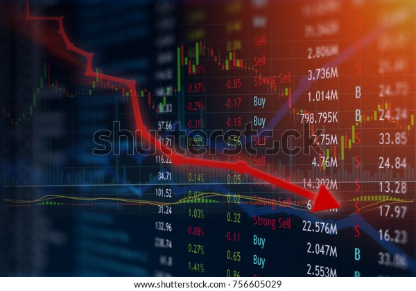 Stock price plummets with negative news coverage and investment is lost in anger and frustration.  Copyspace room for text.