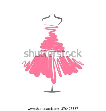 a  dress rose mannequin