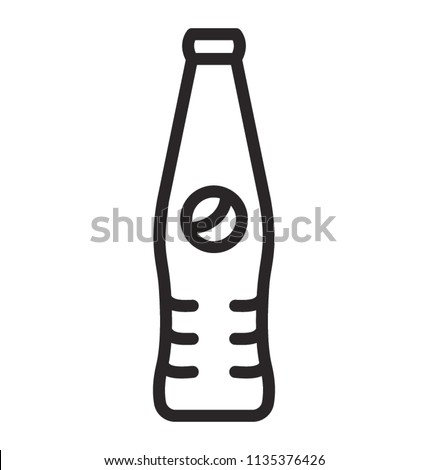 A glass bottle with multi-national logo of a company depicting pepsi cola soda drink