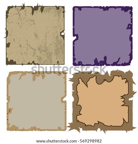 a set of four frames square