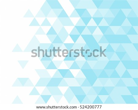 Abstract background of triangles, vector design