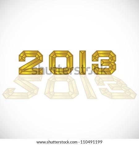 2013 Abstract diamond logo