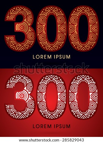 300 abstract  font  concept