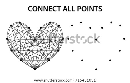 Connect The Points For Kids Download Free Vector Art Stock - Connected-dots-games