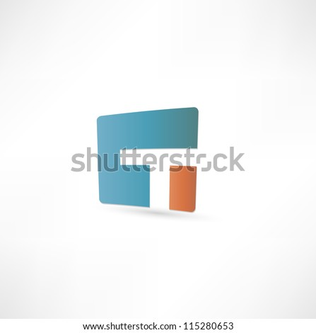 abstract icon based on the