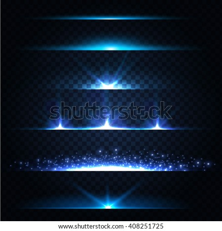 abstract lens flares