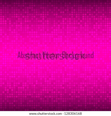 Abstract Violet Technology Background, vector illustration