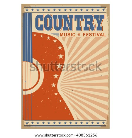 acoustic guitar country music