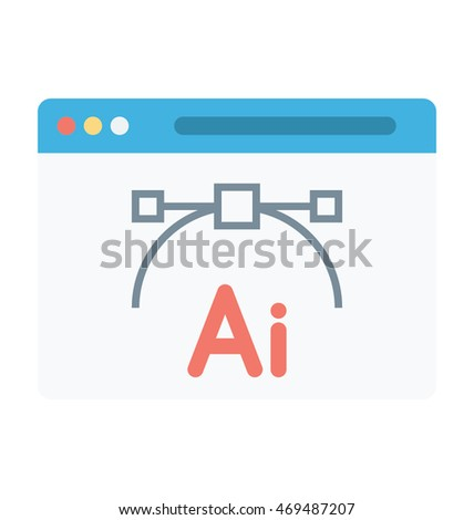 adobe ai vector icon