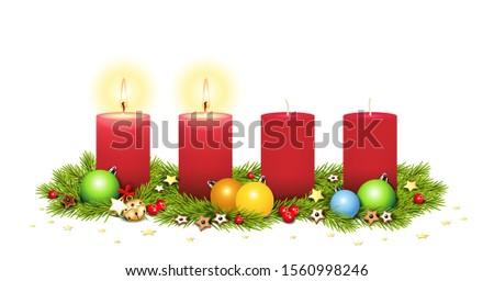2 advent  advent arrangement