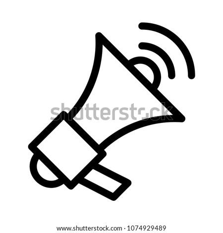 advertisement megaphone speaker r