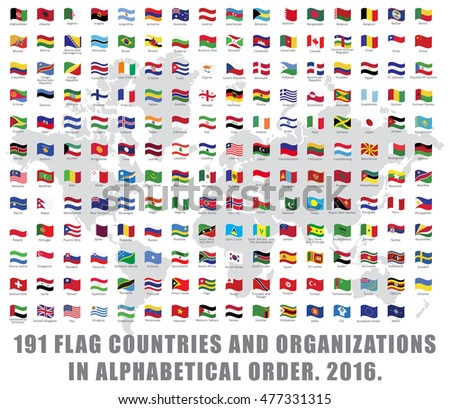 191 all world flag countries