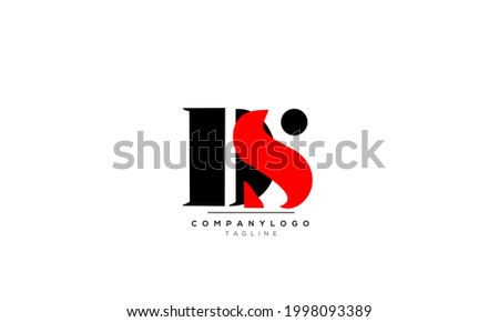 Alphabet  DS , SD , D , S initial Letter Monogram Icon Logo vector illustration Zdjęcia stock ©