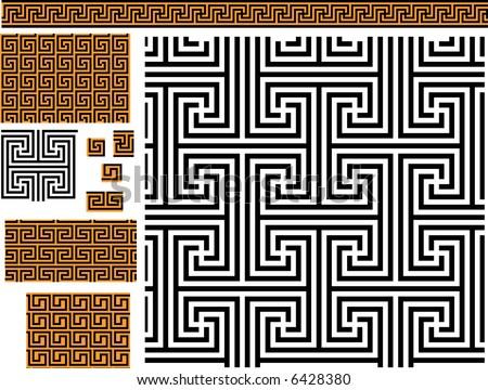 greek pattern | eBay - Electronics, Cars, Fashion, Collectibles