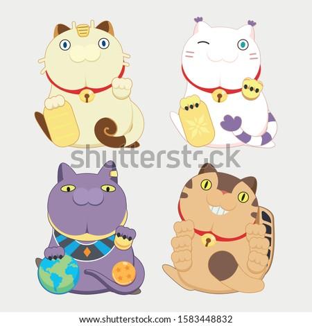 4 animation cartoon cat