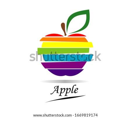 apple logo design apple
