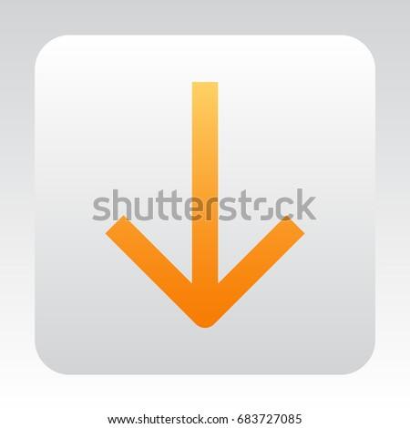 arrow icon Flat.