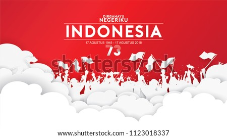 17 august indonesia happy