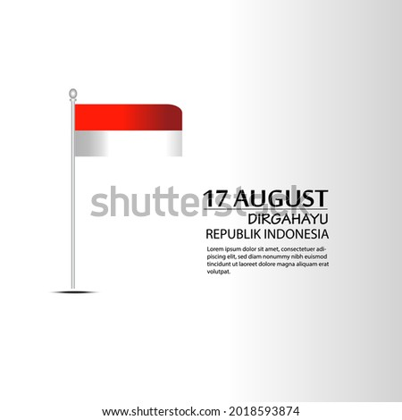 17 august indonesia happy