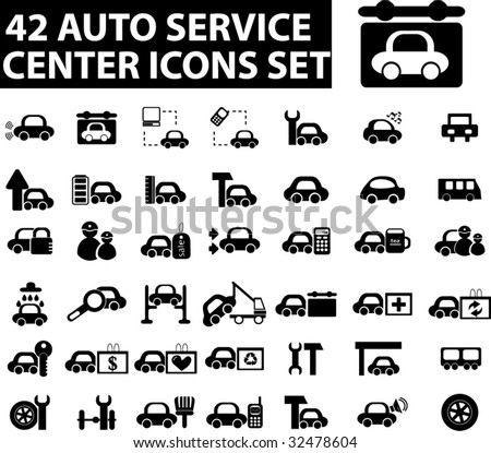 Service Center Icon 42 Auto Service Center Icons