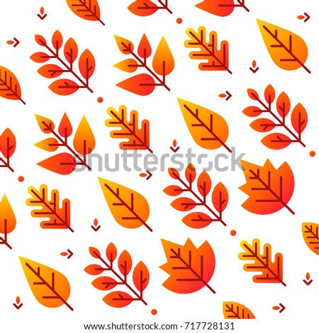 autumn background with bright