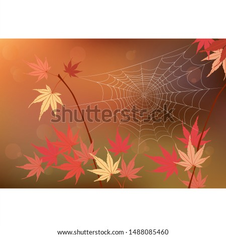 autumn vector art leaves