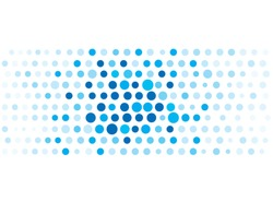 background blue dotted design vector use  business
