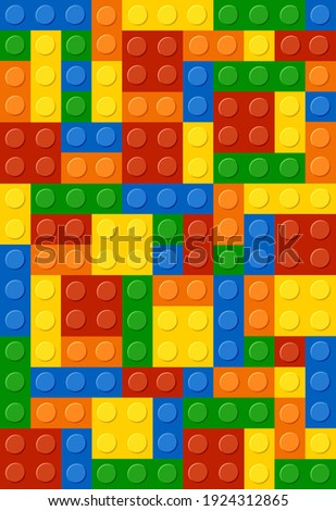 background from colored lego