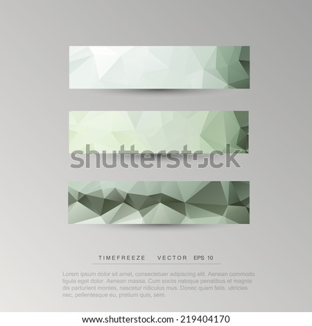 background  polygonal pattern