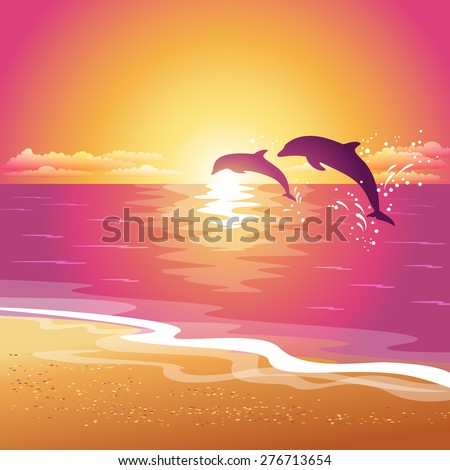 background with silhouette of