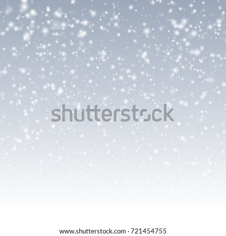 background with snow christmas