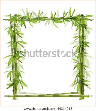 bamboo frame EPS 10