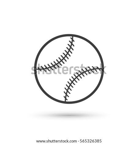 stock-vector--baseball-ball-vector-isolated-on-white-background-flat-vector-illustration-in-black-eps