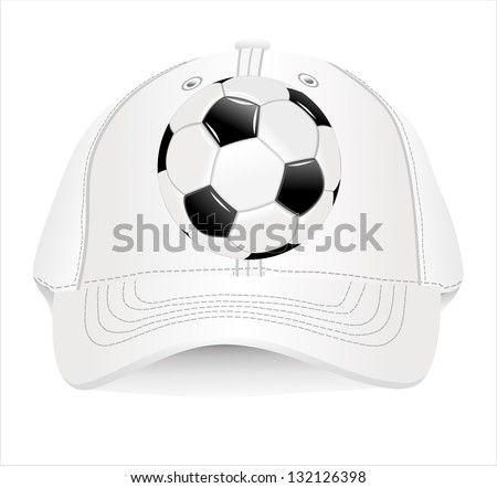 baseball cap design template stock vector illustration 132126398 shutterstock. Black Bedroom Furniture Sets. Home Design Ideas