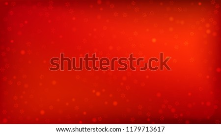 stock-vector--beautiful-red-christmas-background-with-falling-snowflakes-element-of-design-with-snow-for-a