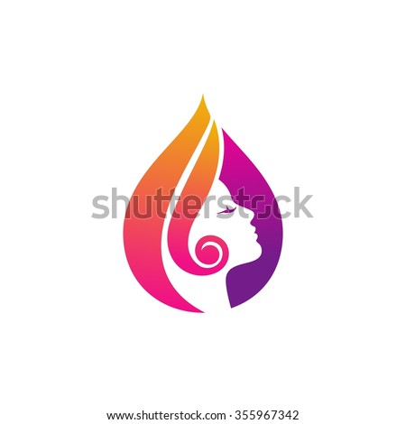 beauty logo vector template