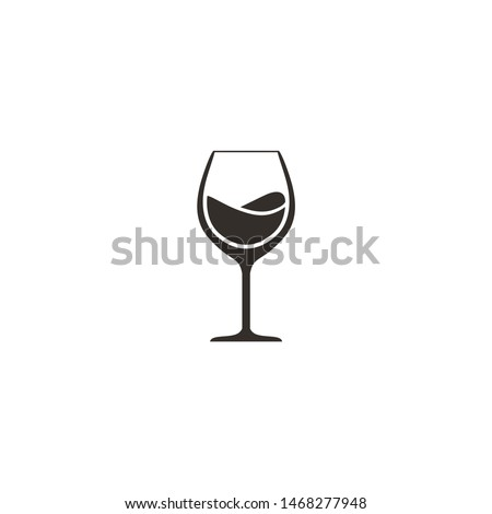 Beer glass icon design template ストックフォト ©