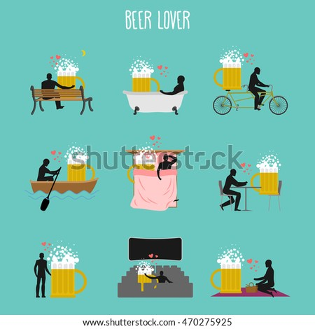beer lover set love of malt