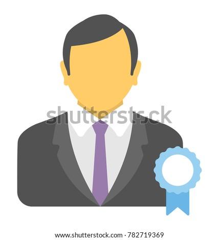Best Employee Vector Icon