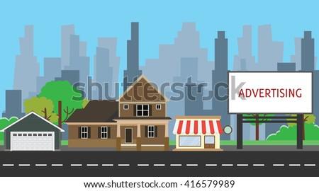 billboard advertising space on