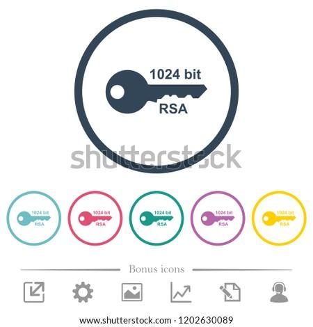 1024 bit rsa encryption flat