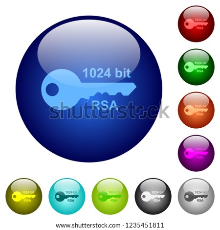 1024 bit rsa encryption icons