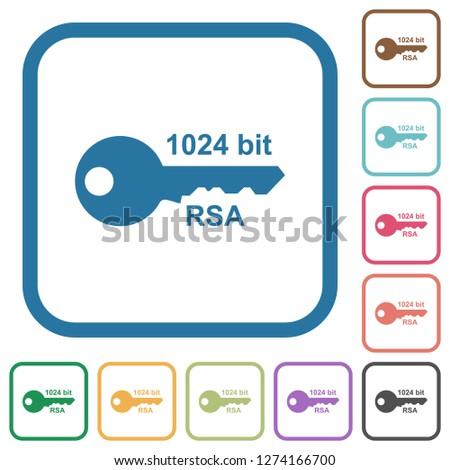 1024 bit rsa encryption simple
