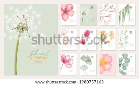 2022 botanical calendar
