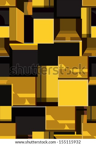 boxes seamless pattern, vector background.