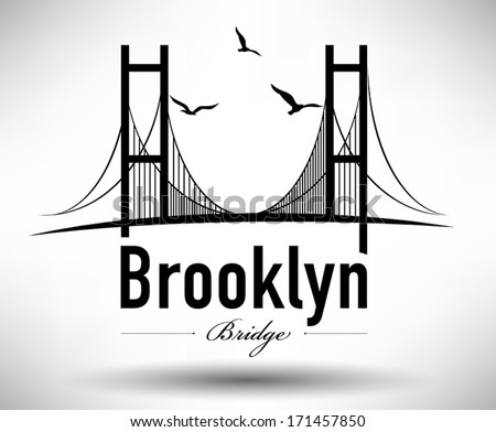 bridge typographic design