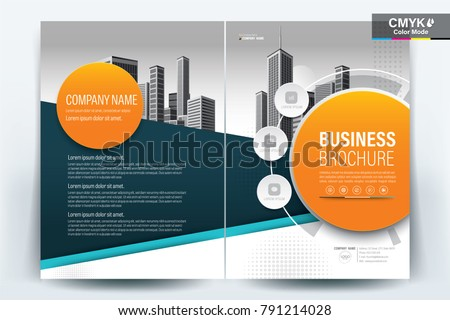 business brochure background design template flyer layout poster magazine annual report