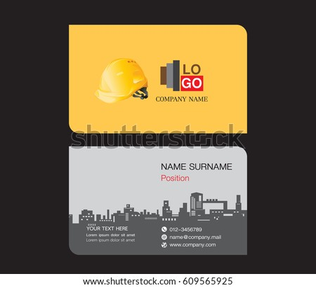 Name card template free vector download free vector art stock business card template engineer name card wajeb Images